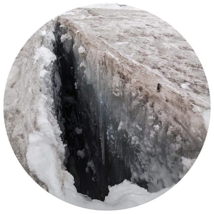 Ice Crevasse - Print