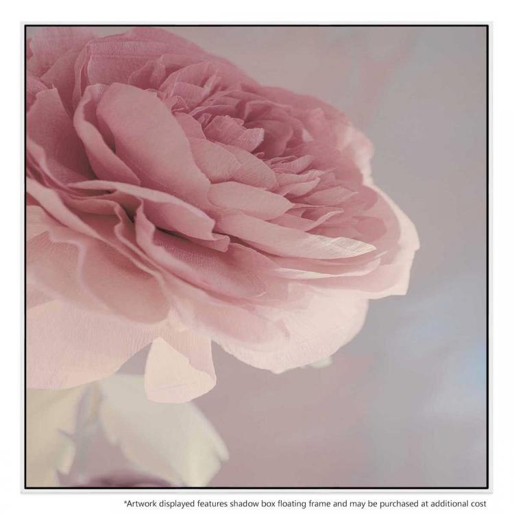 Girl And Rose - Print