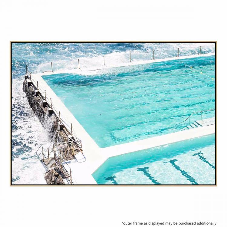 Beachside Pool - Print