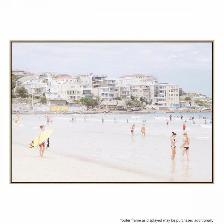 Hot Beach Day - Print