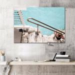 Crystal Clear Beach - Print