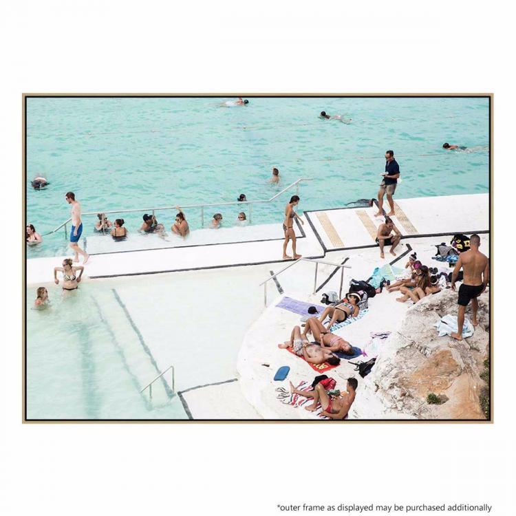 Poolside Beach 2 - Print