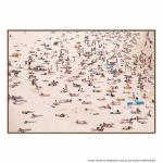 Crowded Beach - Print