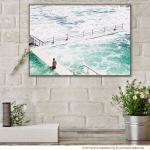 Lone Swimmers Beach - Print