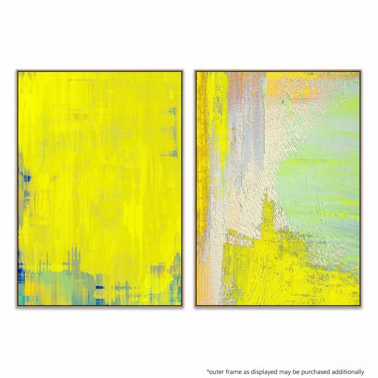 Ballo Giallo - Yellow Shot - Canvas Print