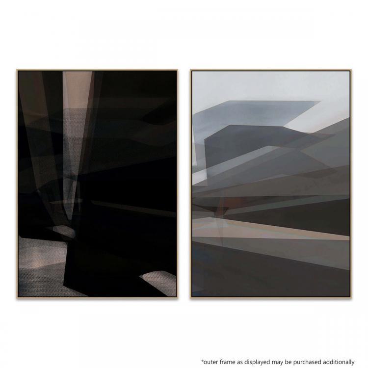 Dark Airport - Light Port - Print