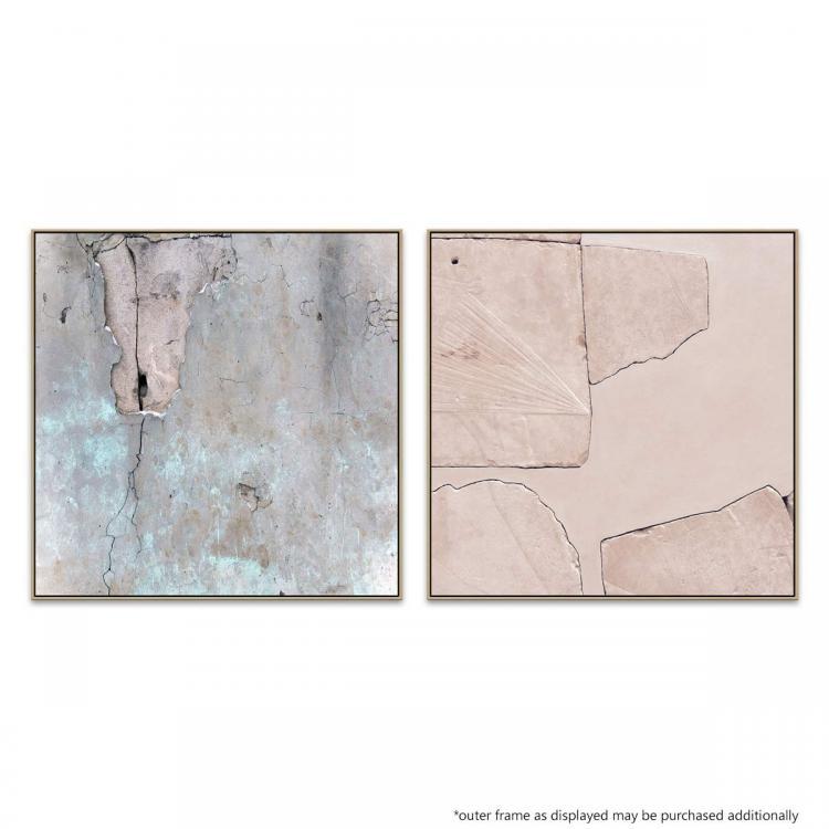 Back to Reality - Rose Quartz - Canvas Print