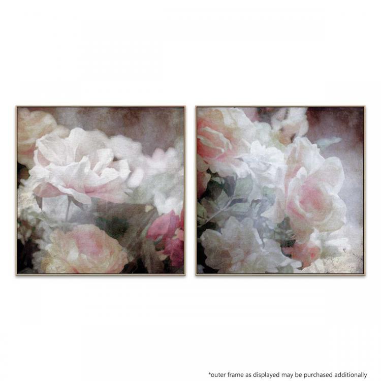 Astoria Bloom - Soft Arrangement - Canvas Print