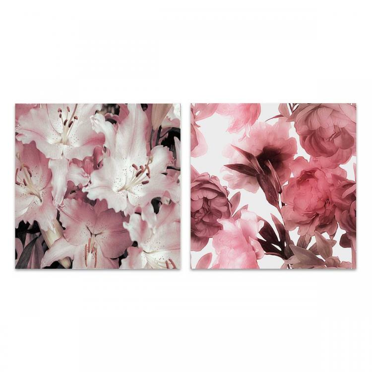 Flores Des Paz - Rosa Fiori - Print