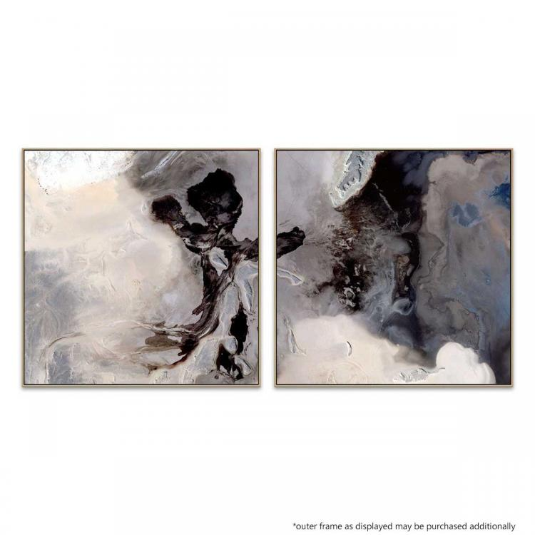 Art Syndrome 1 / Art Syndrome 2  - Canvas Print