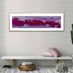 Fuchsia Planet - Print