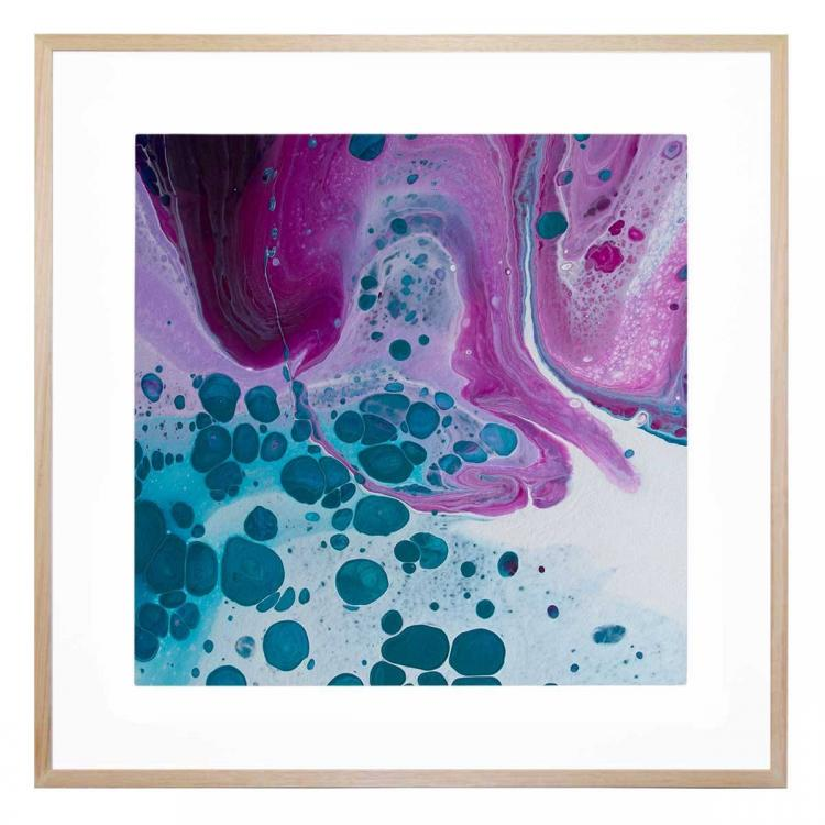 Galaxies Collide - Print