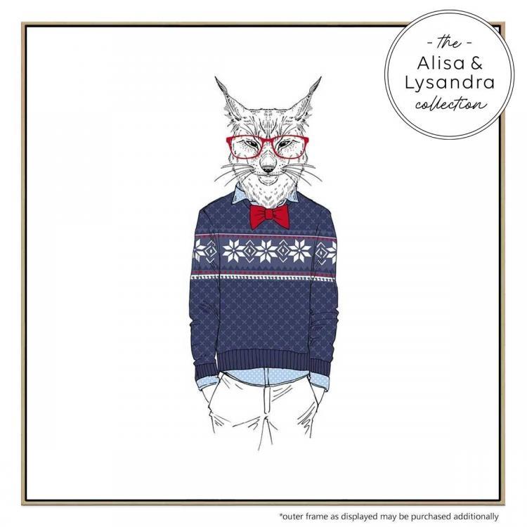 Preppy Cat - Print
