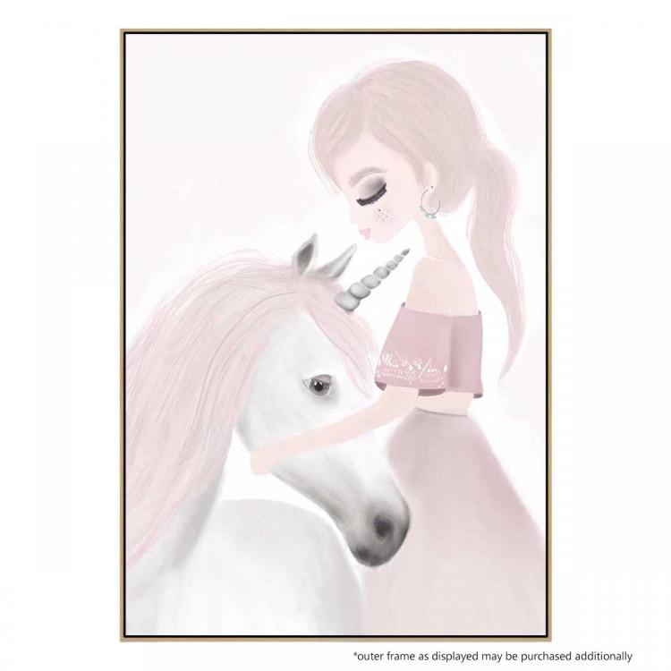 Ivy And Miss Unicorn - Print