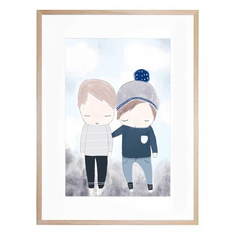 Brothers - Print