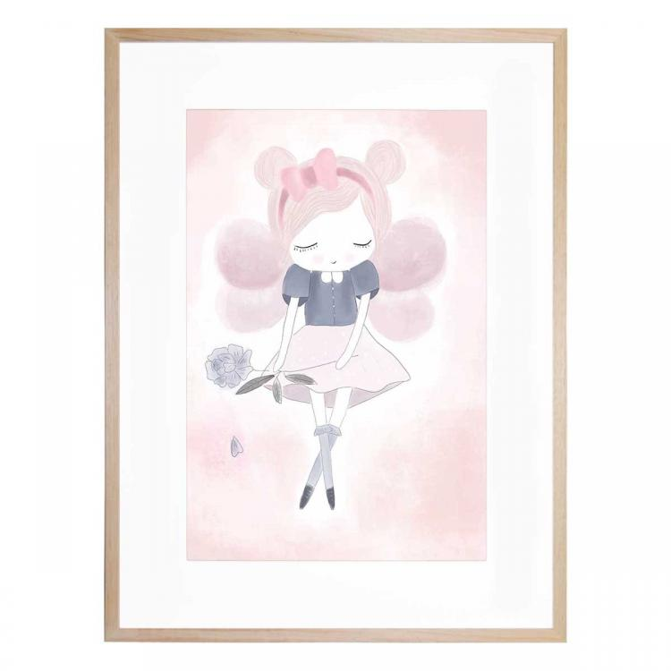 Little Miss Violet - Print