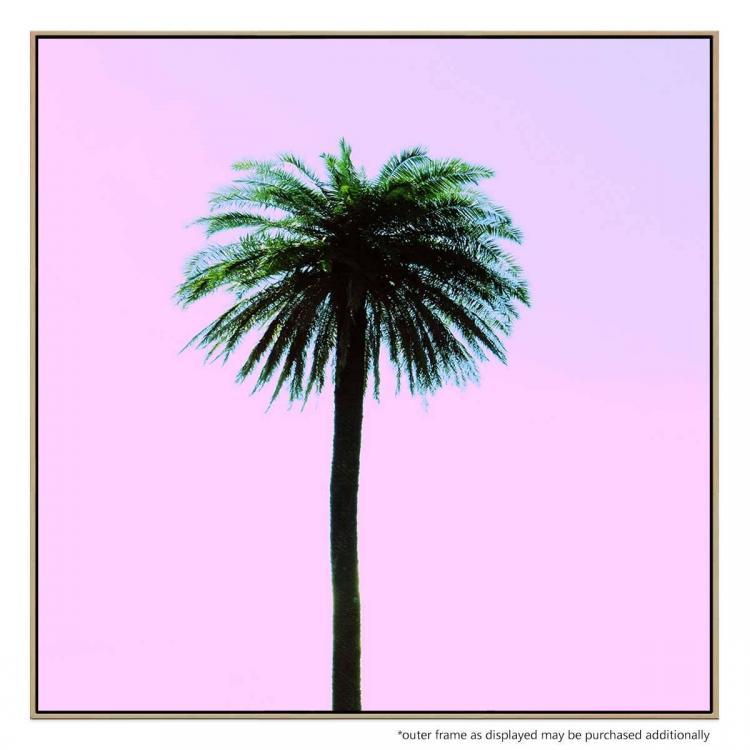 Pink Palm - Print