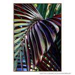 Purple Palm Leaf - Print