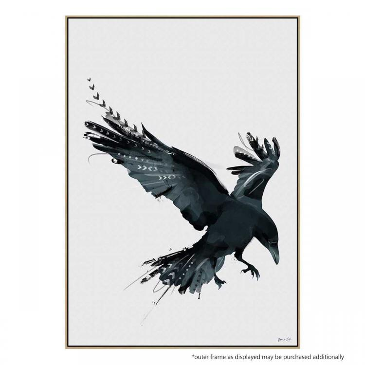 As The Crow Flies - Print