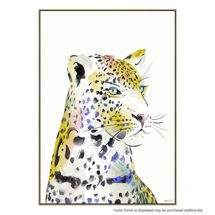 Leopard Watercolor - Print