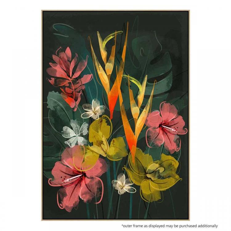 Tropical Flowers - Print
