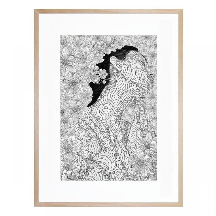 Muse And Creation - Print