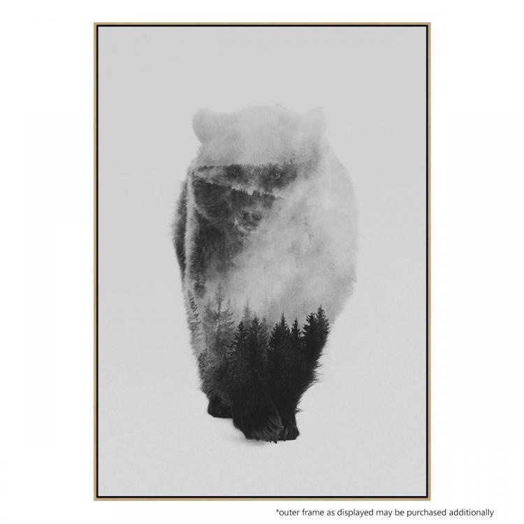 Approaching Bear - Print