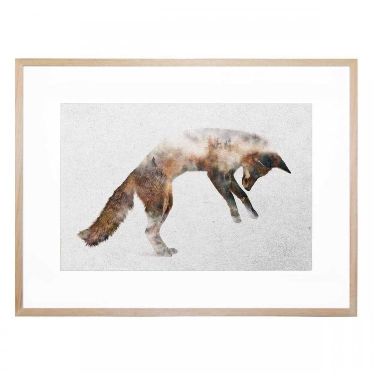 Jumping Fox - Print