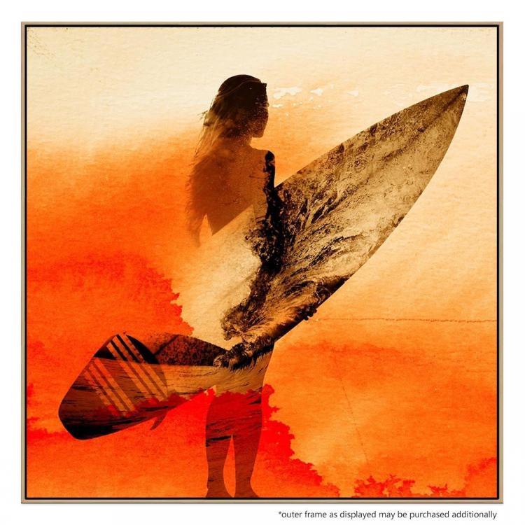 Surfers Morning - Print