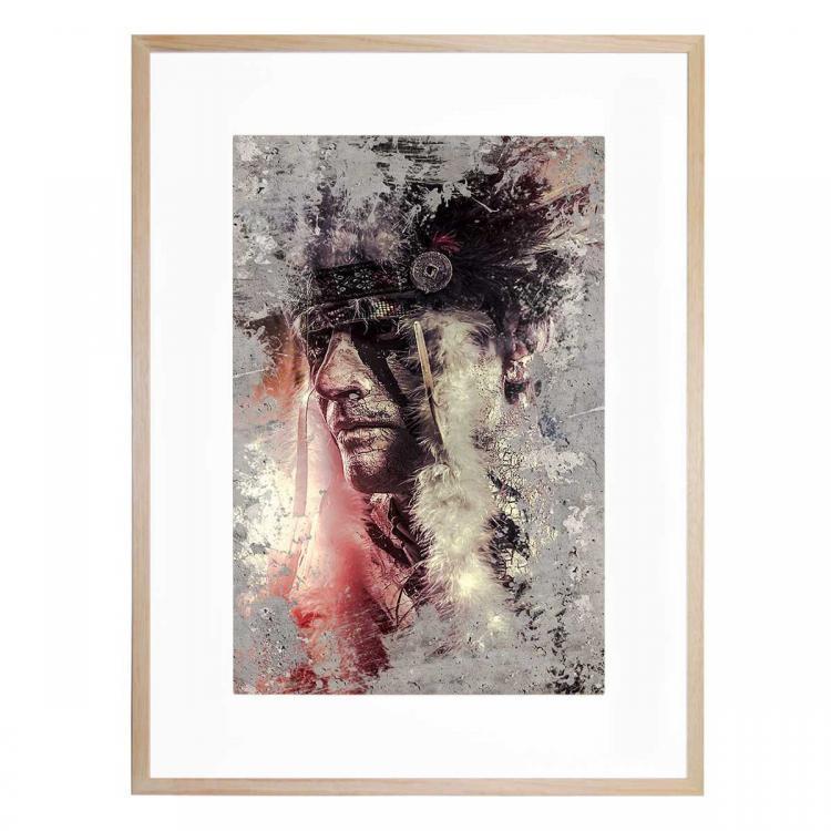 Cherokee Blush - Print