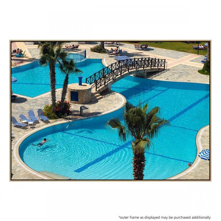 Dive In Pool - Print