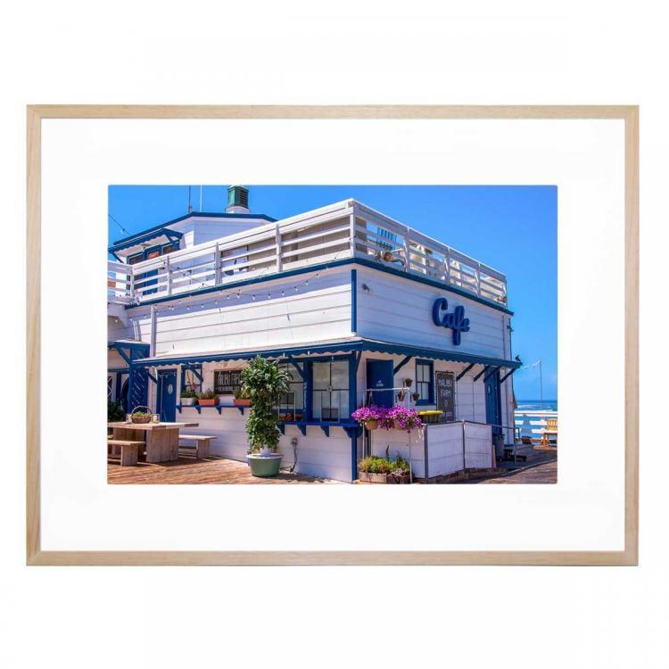 Beachside Diner - Print
