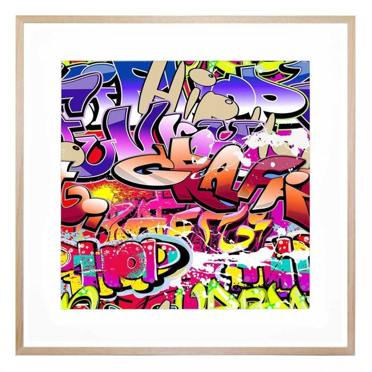 Hip Hop Graffiti - Print