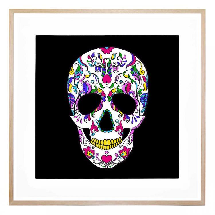 Floral Skull - Print