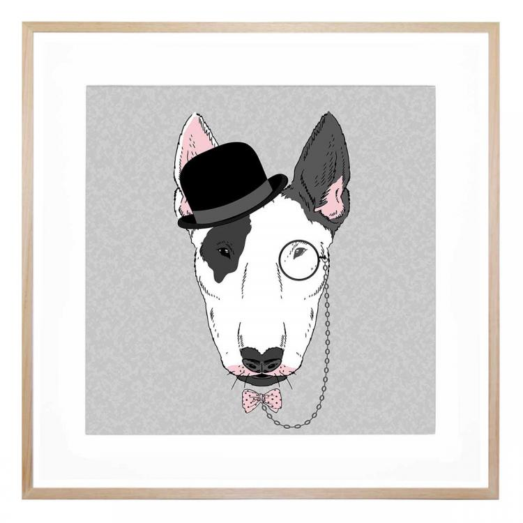 Patch The Terrier - Print