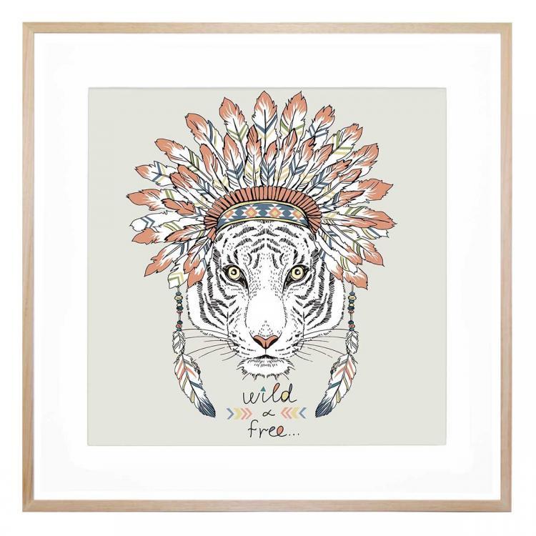 Tiger Wild - Print