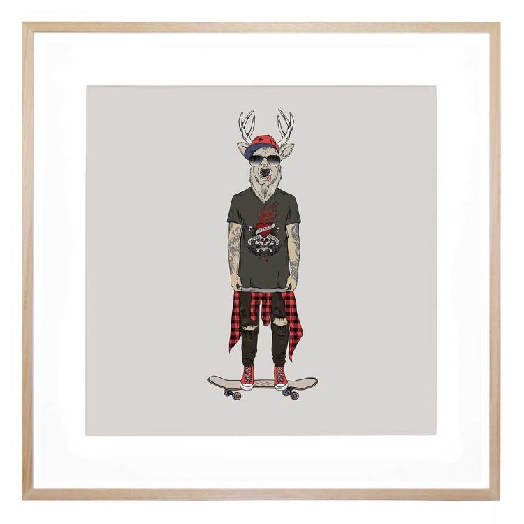 Skater Dave - Print