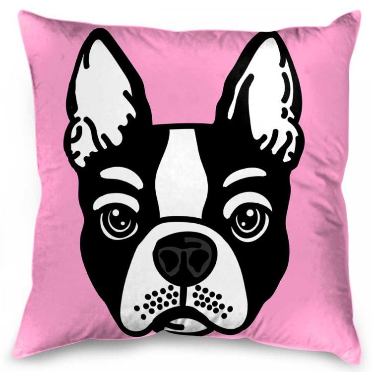 Pink Frenchie - Print
