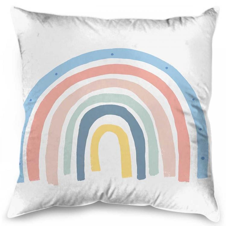 Blue Rainbow - Cushion
