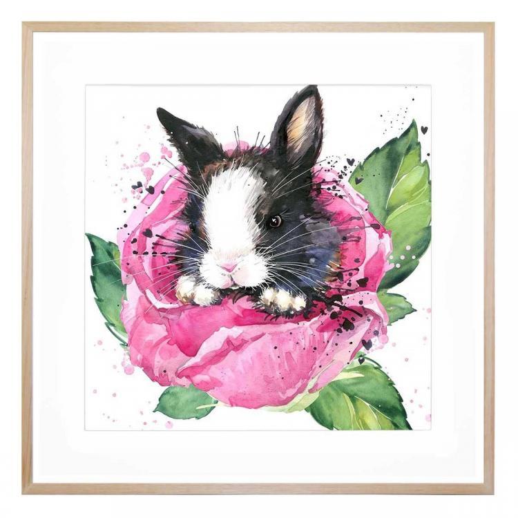 Becca Rabbit - Print