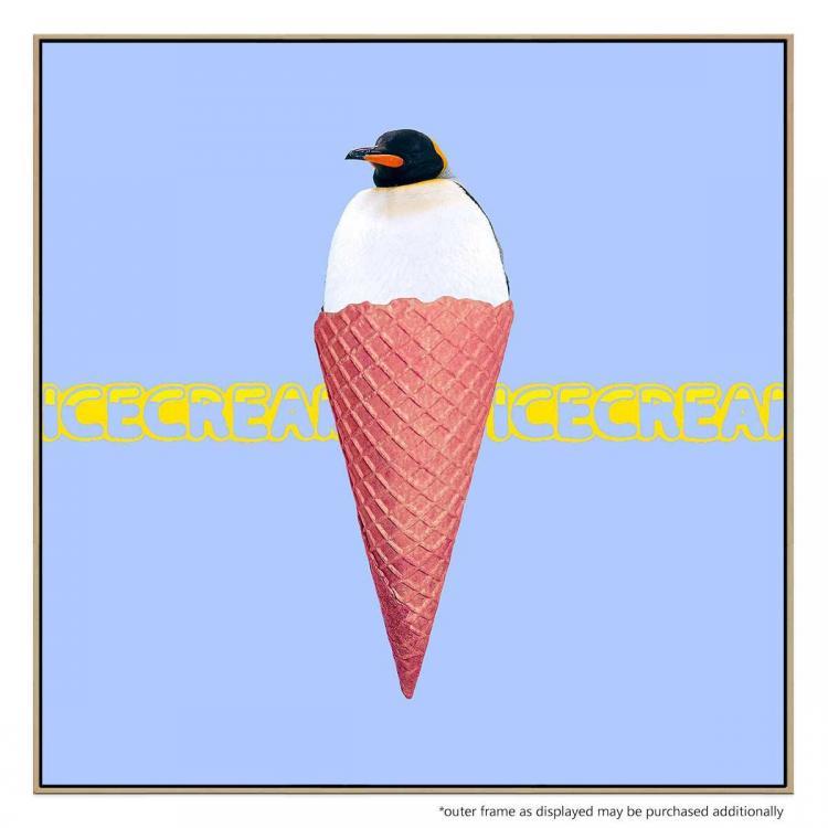 Ice Cream Penguin - Print