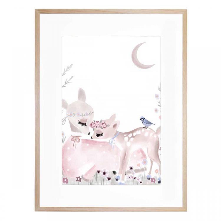 Mummy And Me - Fawn - Print