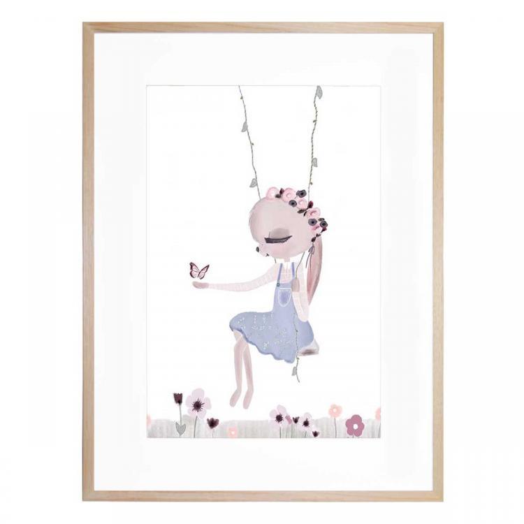 Violet The Bunny - Print