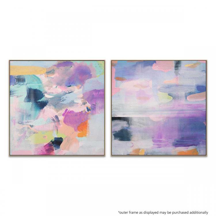 Spring Bouquet - Violet - Print