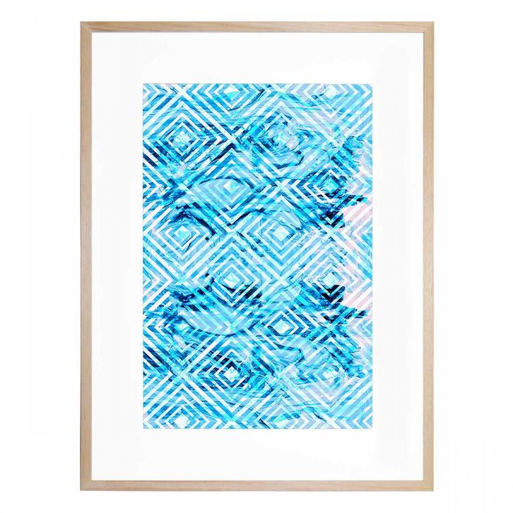 Abstract Geometric IV - Print