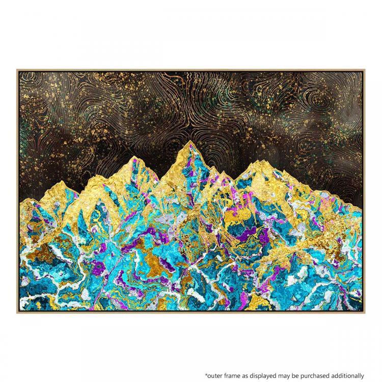 Digital Painting - Mountain Illustration - Print