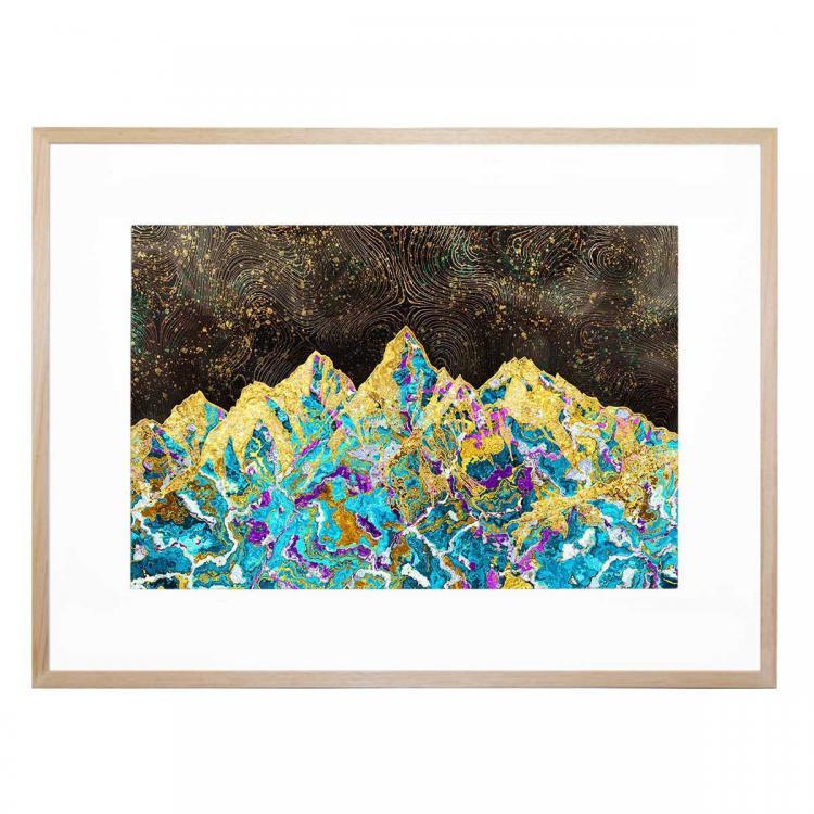 Digital Painting - Mountain Illustration