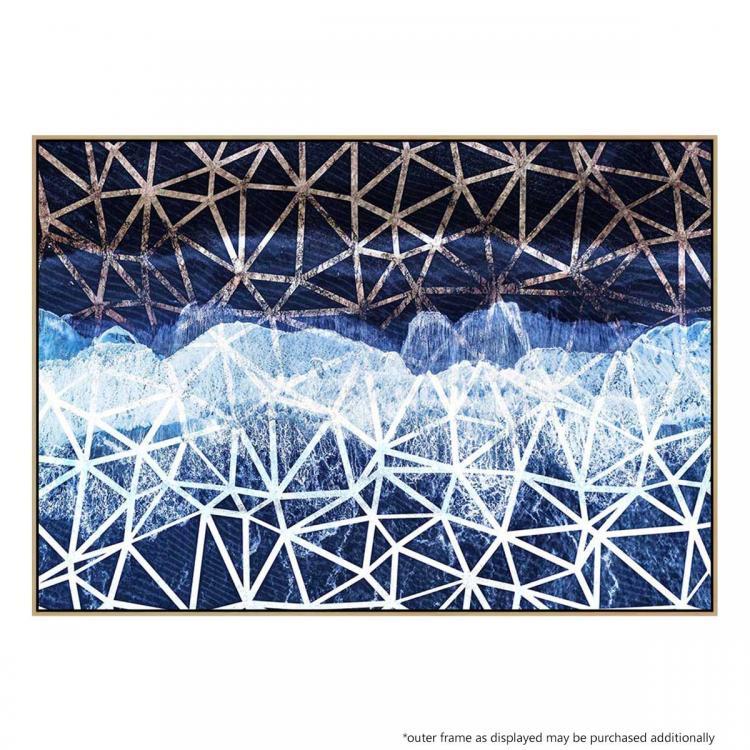Tropical Beach Pattern - Print