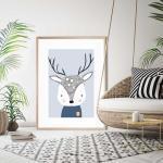 Douglas The Deer - Print
