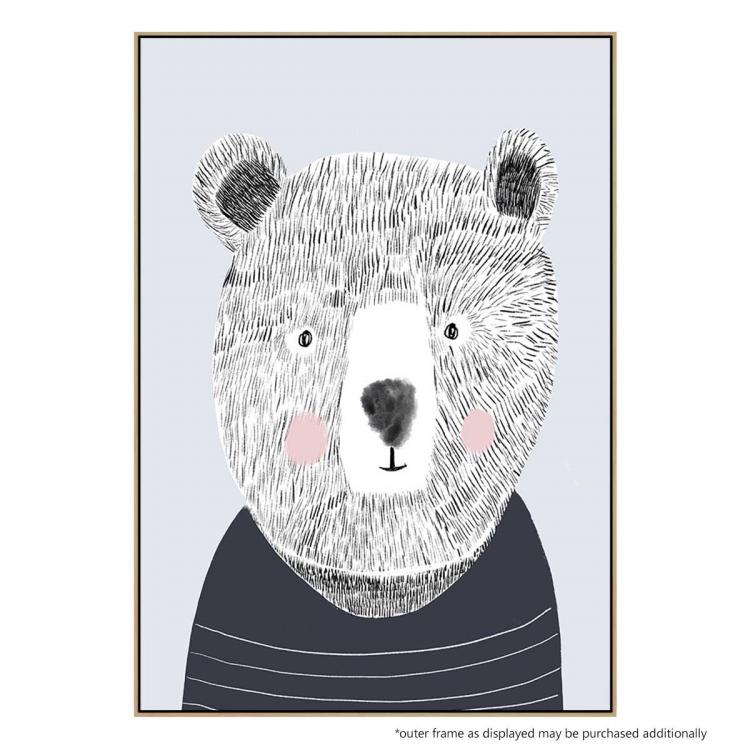 Teddy The Bear - Print